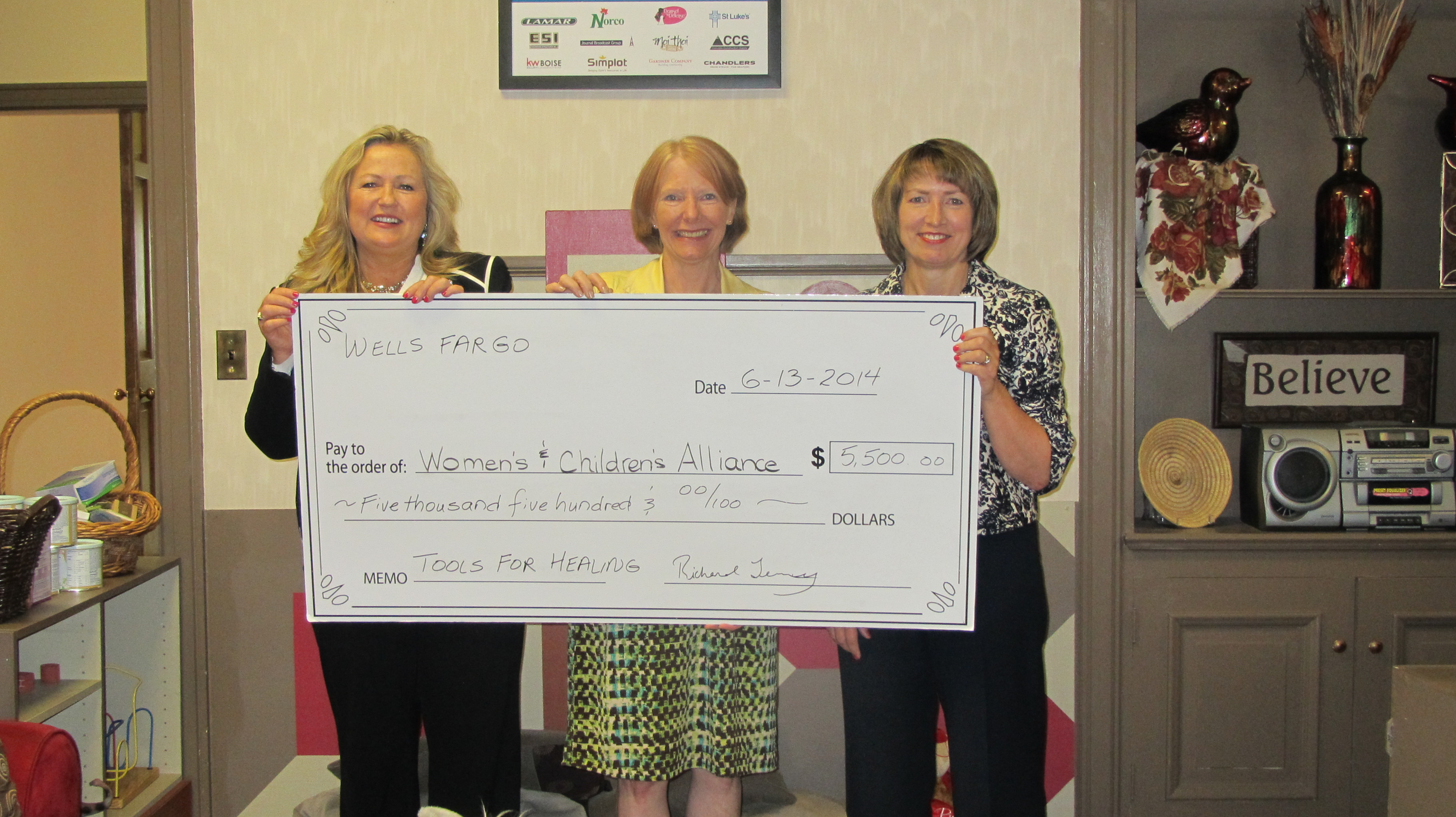 Wells Fargo Tools for Healing Donation - Women's and