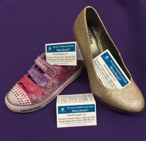 shoe cards