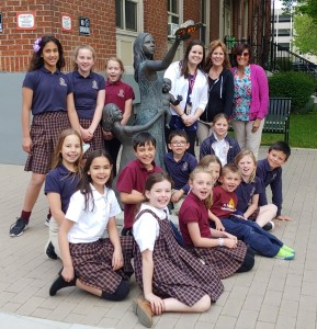 St. Ignatius Catholic School students and staff. With the assistance of compassionate staff, students hosted a donation drive at their school. One student even donated her allowance and sold cookies to raise hundreds of dollars for our mission.